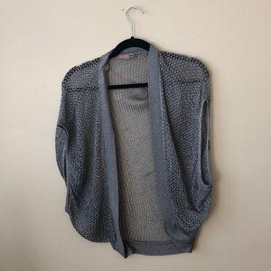 Shimmer sweater shrug